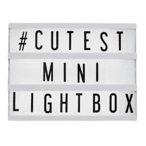 ✨Mini LED Cinema Lightbox